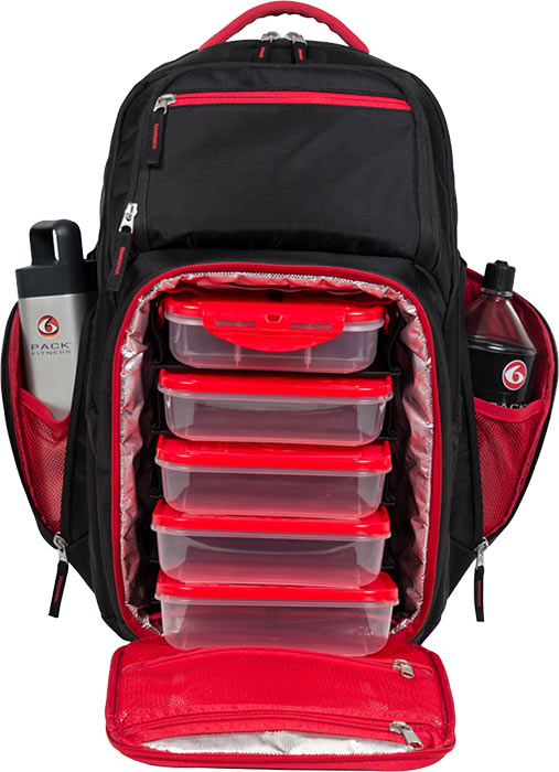 Expedition backpack 6 pack bag by 6 pack fitness at bodybuilding com