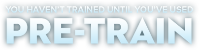 You Haven't Trained Until You've Used PRE-TRAIN