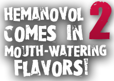 Hemanovol Comes In 2 Mouth-Watering Flavors!