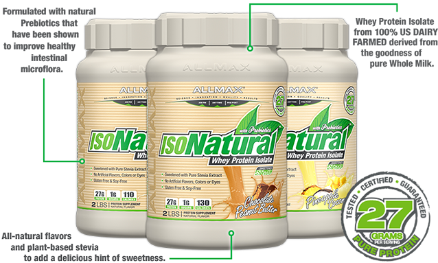 ISONATURAL Features