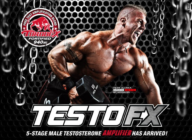 TestoFX. 5-Stage Testosterone Amplifier Has Arrived!