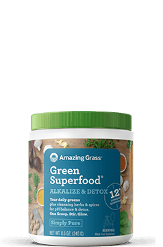 Green Superfood Alkalize & Detox Container