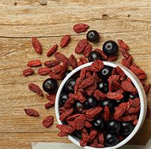 Berries and Raisins