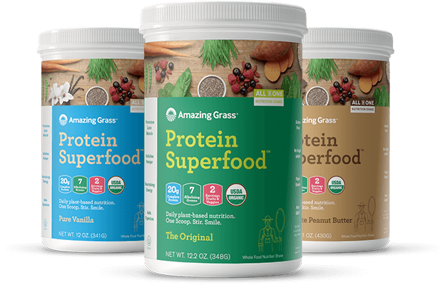 Protein Superfood containers