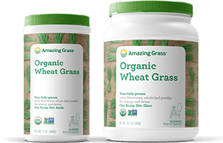 Organic Wheat Grass Containers