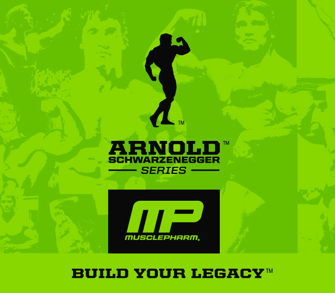 Arnold Schwarzenegger Series by MusclePharm - Build Your Legacy
