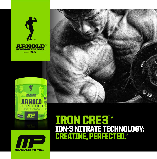 Iron CRE3 Ion-3 Nitrate Technology: Creatine, Perfected.*