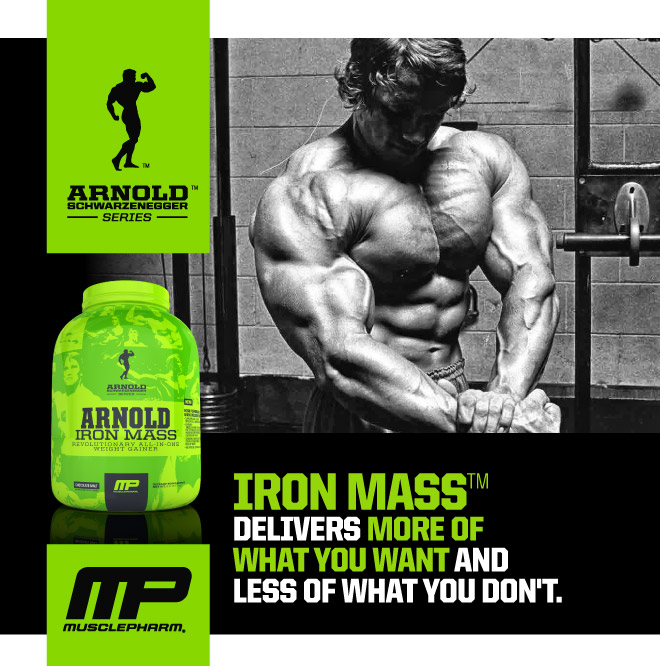 Iron Mass Delivers More of What You Want and Less of What You Don't.