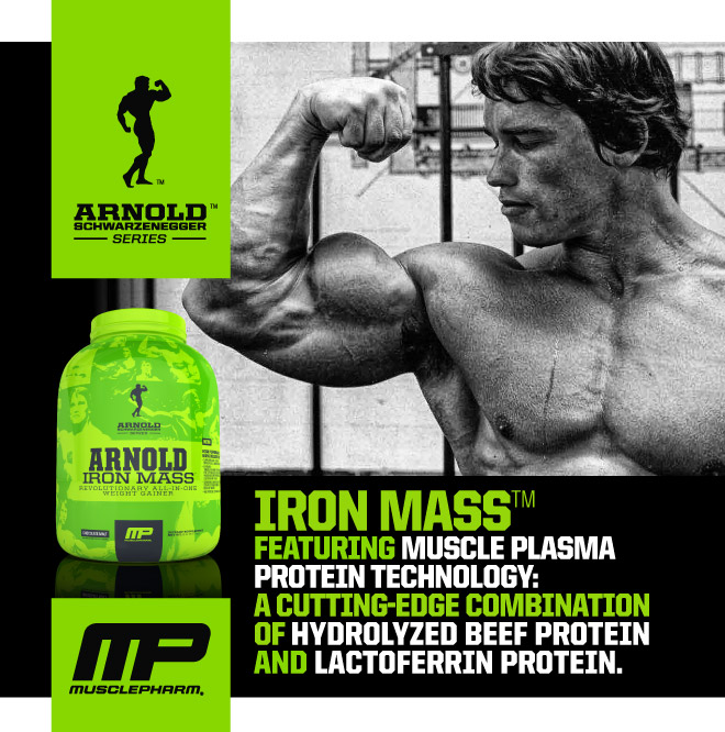 Iron Mass Featurning Muscle Plasma Protein Technology: A Cutting-Edge Combination of Hydrolyzed Beef Protein and Lactoferrin Protein.