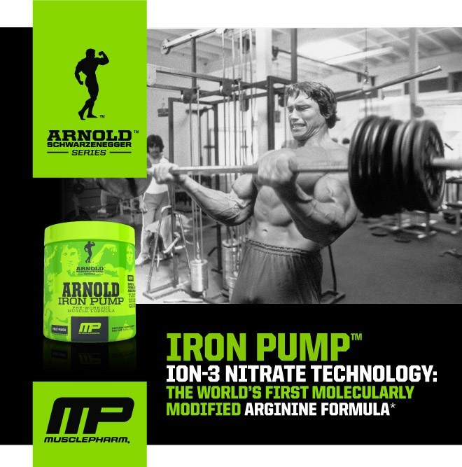 Iron Pump Ion-3 Nitrate Technology: The World's First Molecularly Modified Arginine Formula*