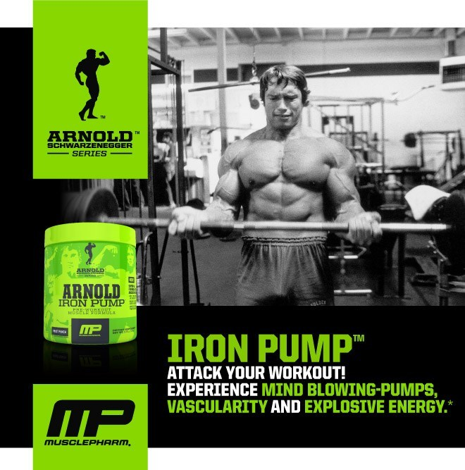 Iron Pump Attack Your Workout! Experience Mind-Blowing Pumps, Vascularity and Explosive Energy.*