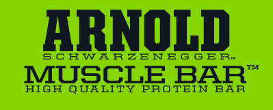 Arnold Schwarzenegger Muscle Bar. High Quality Protein Bar.