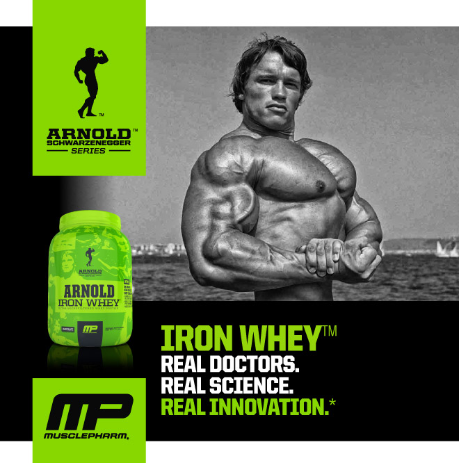 Iron Whey by Arnold Schwarzenegger Series at Bodybuilding