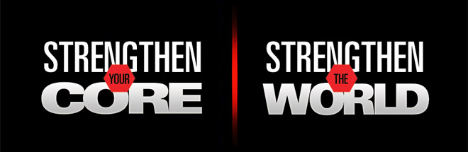 Strength Your Core. Strengthen The World
