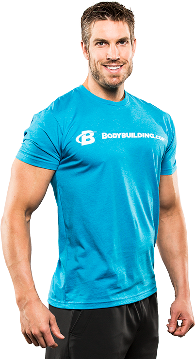 Core Simple Classic Tee by Bodybuilding.com Clothing at ...