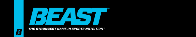 Beast. The Strongest Name in Sports Nutrition