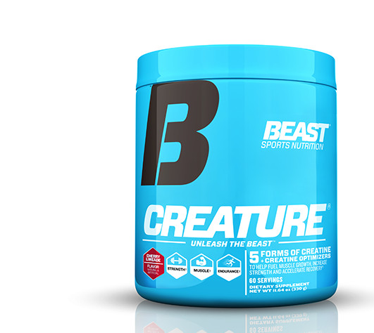 Beast Creature Powder bottle