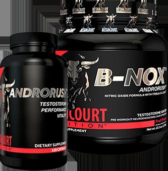 Betancourt Nutrition Androrush Bottles