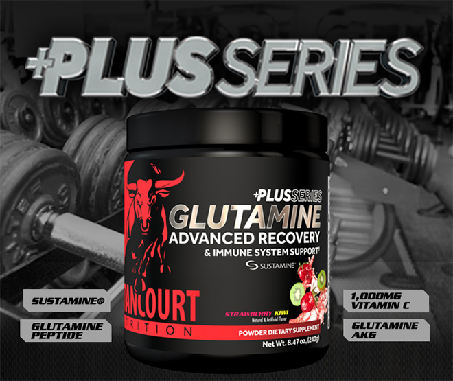 Plus Series. Glutamine. Advanced Recovery. Sustamine. Glutamine Peptide. 1,000mg Vitamin C. Glutamine AKG.