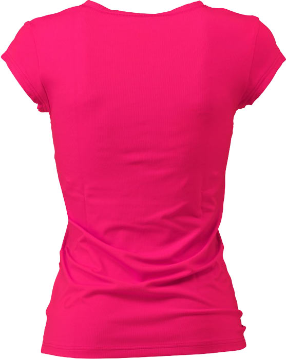 pink plain t shirt front and back joy studio design