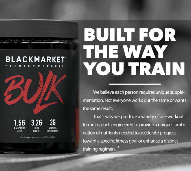 built for the way you train
