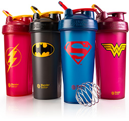 BlenderBottle DC Comic Classic lineup