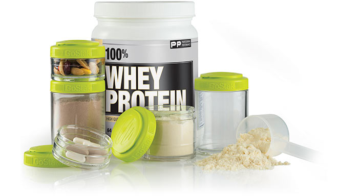 Whey Protein and Blender Bottle