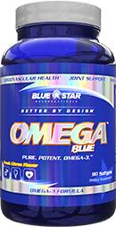Blue Star Nutraceuticals Omega Blue bottle