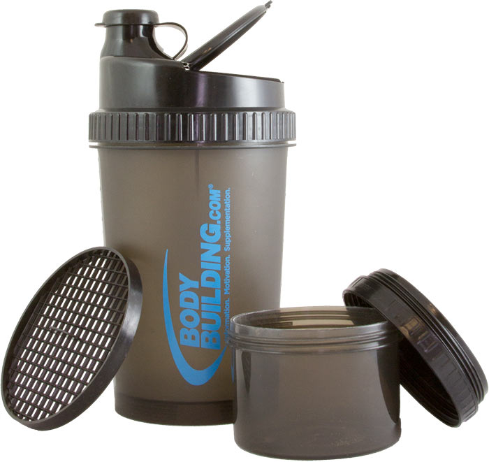 3-in-1 Fitness Shaker by Bodybuilding.com Accessories at