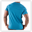 Ignite Tee Back Moroccan Blue