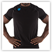 Ignite Tee Front Black