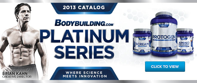 2013 Platinum Series Catalog