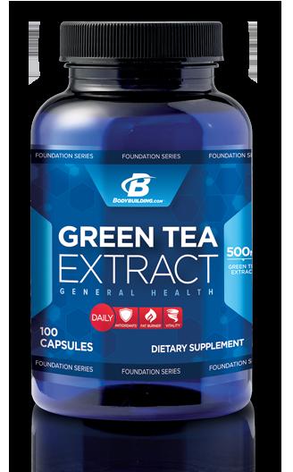 Green Tea Extract Bottle
