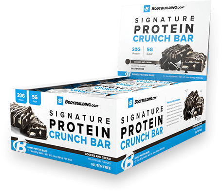 Protein Crunch Bars Box