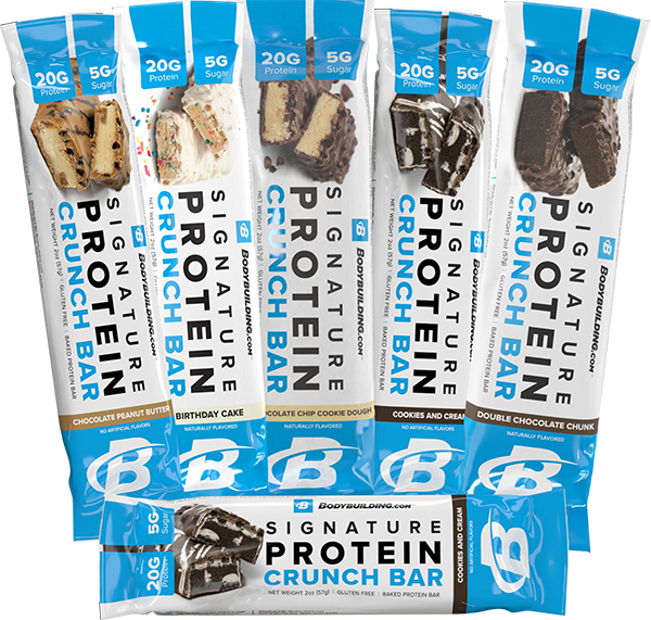 Bodybuilding.com Signature Protein Crunch Bar