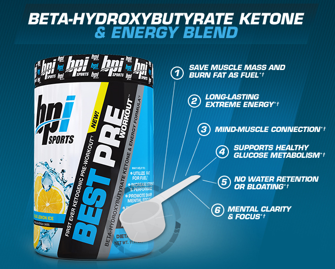 beta-hydroxybutytrate ketone energy blend