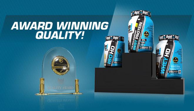 Award Winning Quality