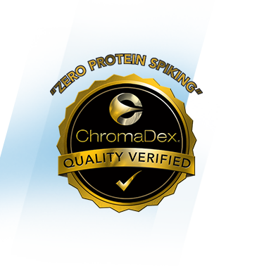 Chromadex Quality Verified.