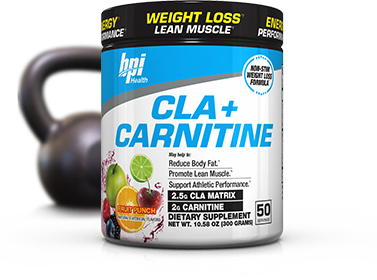 BPI Sports CLA + Carnitine bottle