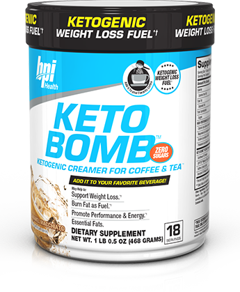 Bpi KETO BOMB Ketogenic Coffee Creamer Fat Burner Weight ...