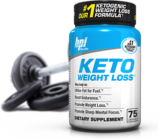 BPI Sports KETO Weight Loss bottle