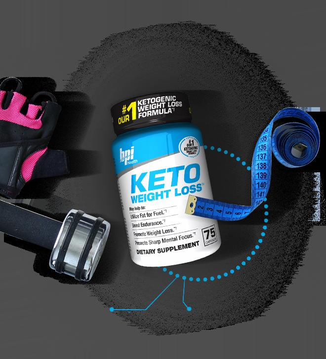 BPI Sports KETO Weight Loss.