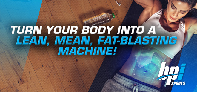 Turn Your Body Inot A Lean, Mean, Fat-Blasting Machine!*