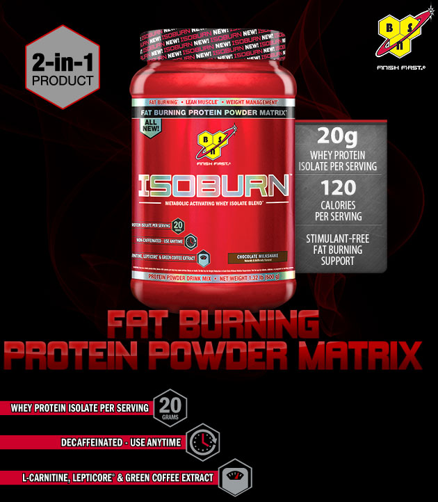 ISOBURN - Fat Burning Protein Powder Matrix