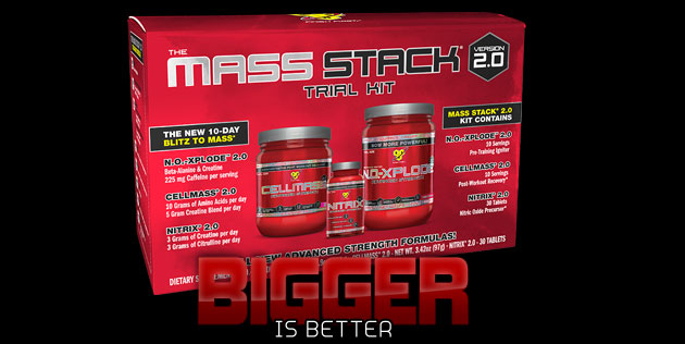 MASS STACK TRIAL KIT - THE NEXT BIG THING HAS ARRIVED