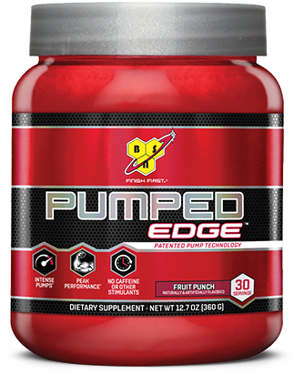 BSN Pumped Edge - Fruit Punch 30 Servings
