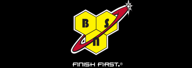 BSN - Finish First logo.