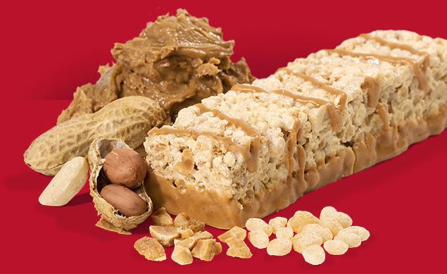 Image of peanut butter crunch bar