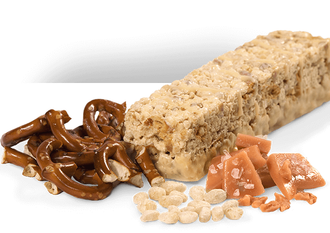 Salted Toffee Pretzel Bar