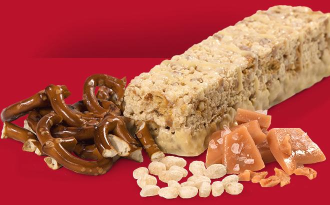Image of toffee pretzel crunch bar